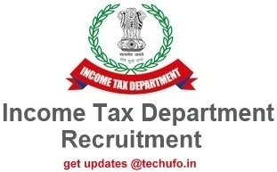 Income Tax Recruitment Notification IT Department Jobs Apply Online Application
