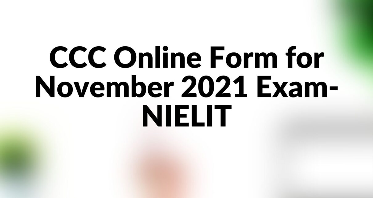 ccc online form apply