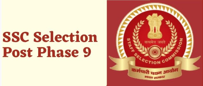 SSC Various Selection Post phase IX